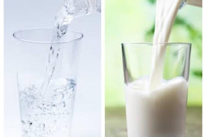プロテインはお水?牛乳?