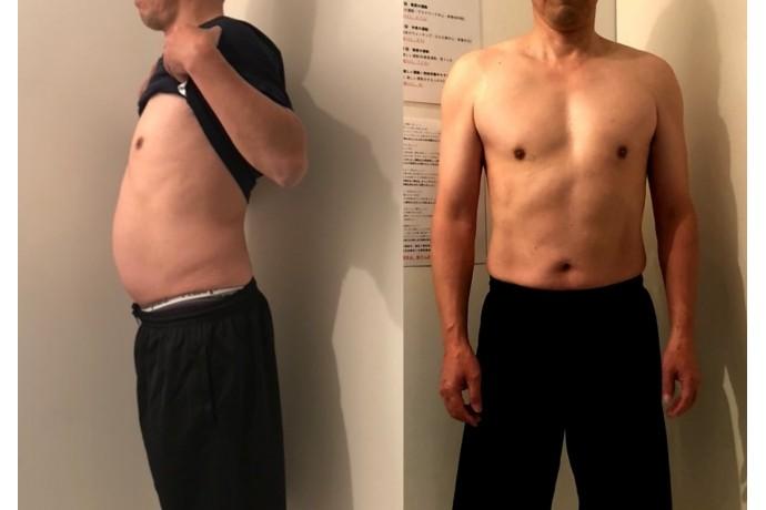 毎日の体の変化を見るのが楽しみです!